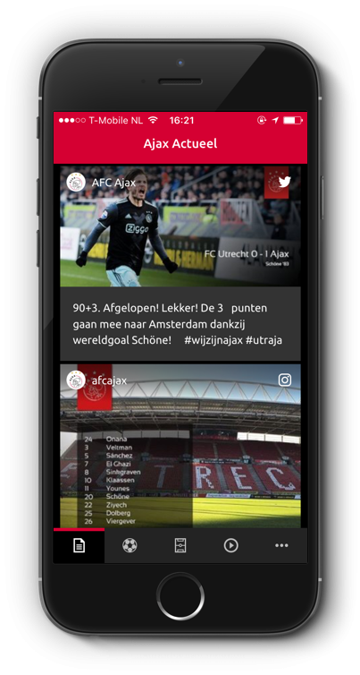Ajax - app front