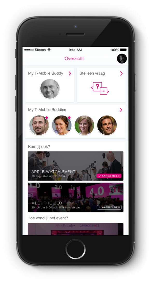 T-Mobile CEO front