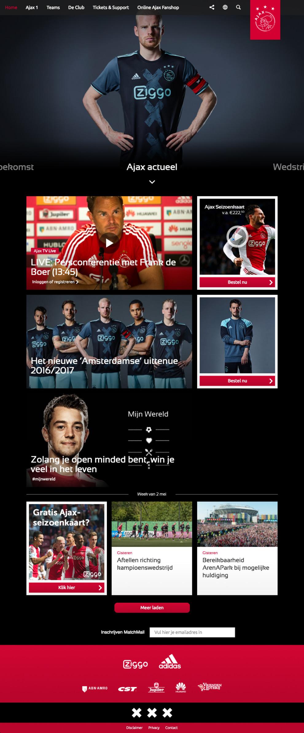 Ajax front