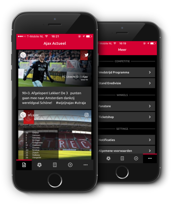 Ajax app on iphone
