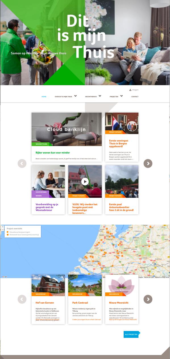 Bam homepage