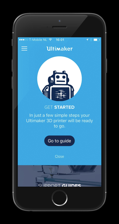 Ultimaker - App front